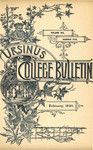 Ursinus College Bulletin Vol. 6, No. 5