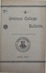 Ursinus College Bulletin Vol. 7, No. 7 by Augustus W. Bomberger, Harvey E. Kilmer, and Irvin F. Wagner