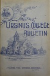 Ursinus College Bulletin Vol. 8, No. 1