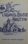 Ursinus College Bulletin Vol. 8, No. 5 by Augustus W. Bomberger, C. Henry Brandt, Whorten A. Kline, J. M. S. Isenberg, Jessie Royer, and W. G. Welsh