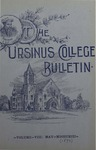 Ursinus College Bulletin Vol. 8, No. 8