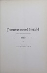 Ursinus College Bulletin Vol. 8, No. 10, Commencement Herald by Augustus W. Bomberger