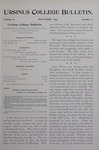 Ursinus College Bulletin Vol. 10, No. 2, November 1893 by J. M. S. Isenberg and John Hunter Watts