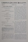 Ursinus College Bulletin Vol. 10, No. 4, January 1894 by J. M. S. Isenberg and John Hunter Watts