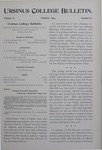Ursinus College Bulletin Vol. 10, No. 6, March 1894 by J. M. S. Isenberg and John Hunter Watts