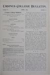 Ursinus College Bulletin Vol. 10, No. 7, April 1894