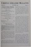 Ursinus College Bulletin Vol. 11, No. 2, November 1894
