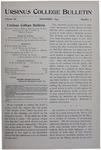 Ursinus College Bulletin Vol. 11, No. 3, December 1894