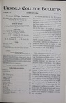Ursinus College Bulletin Vol. 11, No. 5, February 1895