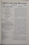 Ursinus College Bulletin Vol. 12, No. 2, November 1895