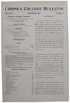 Ursinus College Bulletin Vol. 12, No. 3, December 1895