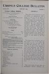 Ursinus College Bulletin Vol. 12, No. 4, January 1896