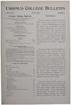 Ursinus College Bulletin Vol. 12, No. 9, June 1896