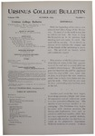 Ursinus College Bulletin Vol. 13, No. 1, October 1896