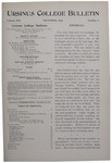 Ursinus College Bulletin Vol. 13, No. 2, November 1896