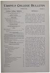Ursinus College Bulletin Vol. 13, No. 6, March 1897