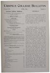 Ursinus College Bulletin Vol. 13, No. 7, April 1897