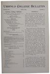Ursinus College Bulletin Vol. 13, No. 9, June 1897