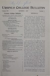 Ursinus College Bulletin Vol. 14, No. 1, October 1, 1897