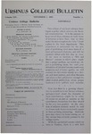 Ursinus College Bulletin Vol. 14, No. 3, November 1, 1897