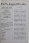 Ursinus College Bulletin Vol. 14, No. 4, November 15, 1897