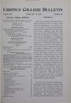 Ursinus College Bulletin Vol. 14, No. 10, February 15, 1898