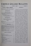 Ursinus College Bulletin Vol. 14, No. 11, March 1, 1898