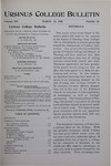 Ursinus College Bulletin Vol. 14, No. 12, March 15, 1898