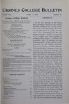 Ursinus College Bulletin Vol. 14, No. 13, April 1, 1898