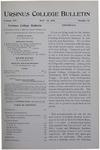 Ursinus College Bulletin Vol. 14, No. 16, May 15, 1898