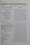 Ursinus College Bulletin Vol. 14, No. 18, June 15, 1898