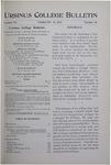 Ursinus College Bulletin Vol. 15, No. 10, February 15, 1899