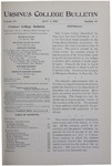 Ursinus College Bulletin Vol. 15, No. 19, July 1, 1899