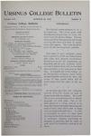 Ursinus College Bulletin Vol. 16, No. 2, October 15, 1899