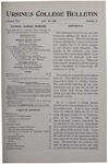 Ursinus College Bulletin Vol. 16, No. 8, January 15, 1900