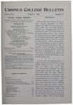 Ursinus College Bulletin Vol. 16, No. 11, March 1, 1900