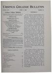 Ursinus College Bulletin Vol. 16, No. 13, April 1, 1900 by John Edward Stone