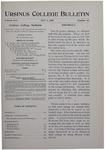 Ursinus College Bulletin Vol. 16, No. 15, May 1, 1900