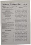 Ursinus College Bulletin Vol. 16, No. 18, June 15, 1900 by William Samuel Keiter