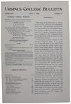 Ursinus College Bulletin Vol. 16, No. 19, July 1, 1900 by William Samuel Keiter