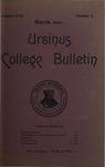 Ursinus College Bulletin Vol. 17, No. 6, March 15, 1901