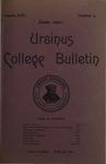 Ursinus College Bulletin Vol. 17, No. 9, June 15, 1901 by Mary E. Markley and John Alexander