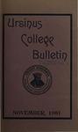 Ursinus College Bulletin Vol. 18, No. 2, November 15, 1901 by Mary E. Markley