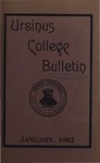 Ursinus College Bulletin Vol. 18, No. 4, January 15, 1902 by Mary E. Markley and Marion G. Spangler