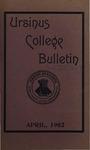 Ursinus College Bulletin Vol. 18, No. 7, April 15, 1902