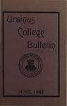 Ursinus College Bulletin Vol. 18, No. 9, June 15, 1902 by Walter E. Hoffsommer