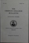 Ursinus College Catalogue for the Seventy-seventh Academic Year, 1946-1947 by Office of the Registrar