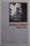 Ursinus College Catalog for the One Hundred and Eleventh Academic Year, 1980-1981