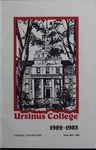 Ursinus College Catalog for the One Hundred and Thirteenth Academic Year, 1982-1983