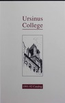 1991-1992 Ursinus College Course Catalog by Office of the Registrar